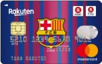 楽天カード、バルセロナFCチームエンブレムデザイン