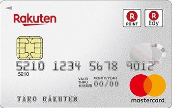 楽天カード、券面写真