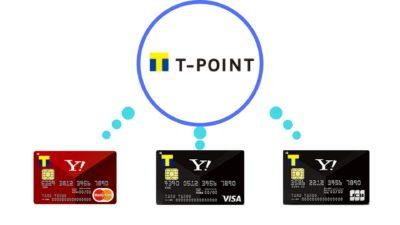 Yahoo! JapanカードのポイントプログラムはTポイント