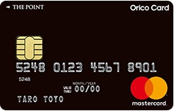 オリコカード・ザ・ポイント、券面写真
